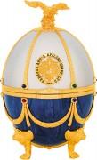 Водка «Императорская коллекция» (футляр в форме яйца Фаберже) Жемчуг и Сапфир
