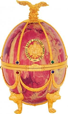 Водка «Императорская коллекция» (футляр в форме яйца Фаберже) Мрамор