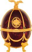 Водка «Императорская коллекция» (футляр в форме яйца Фаберже) Рубин