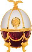 Водка «Императорская коллекция» (футляр в форме яйца Фаберже) Рубин Жемчуг