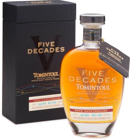 Виски  TONINTOUL 5 DECADES 1965 - 2015