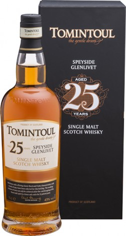 Виски  TOMINTOUL SINGLE MALT 25 YO