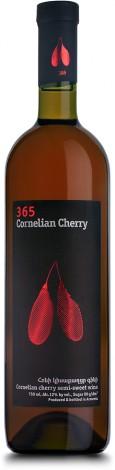Вино 365 Кизиловое Полусладкое Вино