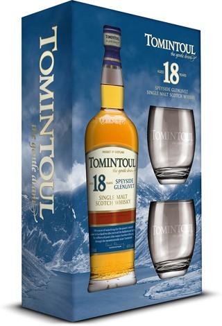טומינטול 18 מארז עם כוסות