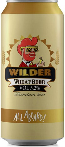 ווילדר בירה חיטה פחית 500 מ