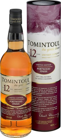 טומינטול 12 שנות יישון עם פיניש בחביות יין פורט